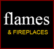 Flames and Fireplaces Logo