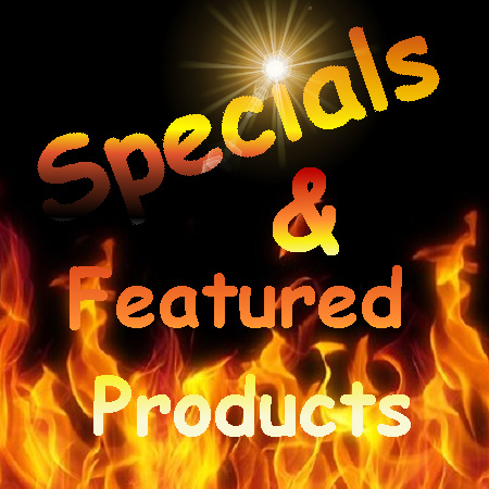Specials and Featured products